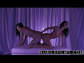 Nubilefilms trembling orgasms for petite lesbians