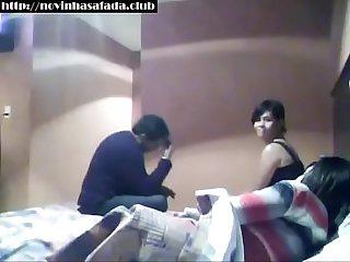 No motel com duas que pegou na balada http novinhasafada club