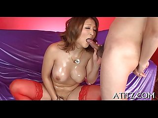 Wicked toying with breasty japanese
