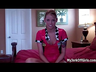 Jerk off for The Hot Girl next door joi