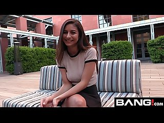 BANG Real Teen: Nina is Your Perfect Innocent College GIrl