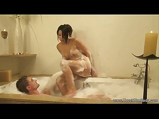 Giving A Loving Soapy Massage