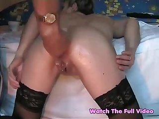 Anal fist fucking