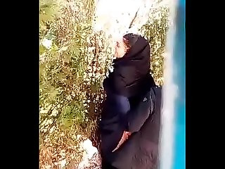 Persian boy fuck his hijab gf s ass in park and voyeur spy recording
