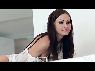 Nympho wife tina Kay wakes husband up for balls deep anal