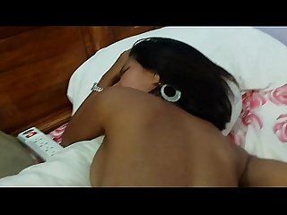 POV amateur ebony creampie more at www.camvids.live