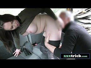 Hot Australian Brunette In Heels Fucking Doggystyle - Yasmin Scott