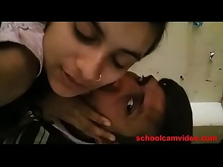 Ritika with his teacher fisrt time at schoolcamvideo com full