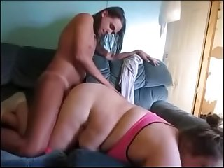 Horny fat milf wife get multiple orgasm by husband fucking pussy different ways
