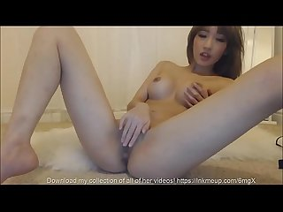 Asian Finger Masturbation Cum