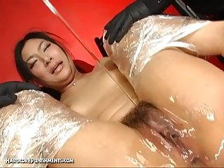 Jaw dropping japanese asian fetish and bondage sex