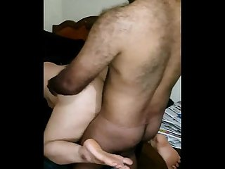 Indian gf fucked by office colleague in doggystyle fuckmyindiangf period com