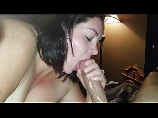 Sexy bbw sucks dick and squirts all over cock lpar pt 2 rpar