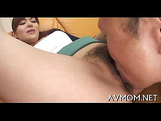 Obscene bitch milf pounding action