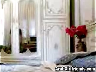 Arabic slut loves to get her pussy banged by her boyfriend
