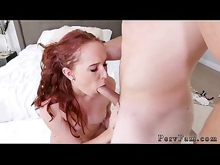 Teen gets wet in her pants and short petite stepfathers perfect fit