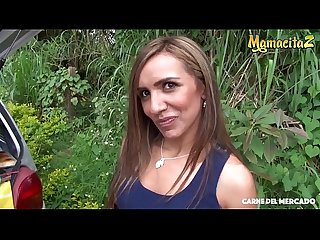 MAMACITAZ - Colombian Babe Adriana Betancur Accepts Dirty Hardcore Invitation