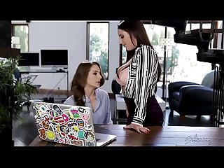 New intern caught on masturbation on her FIRST day! - Kimmy Granger&Angela White