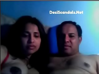 Indian couple love making new