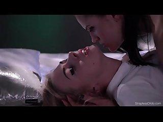 Scarlett mias fucked strapon