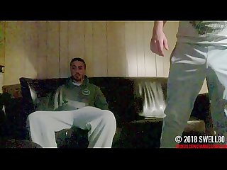 Darryl #2 cam catches big dick straight guy try mutual masturbation first time