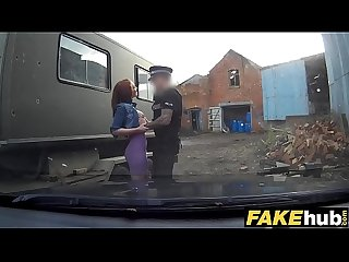 Fake cop Unfaithful girlfriend feels the Force