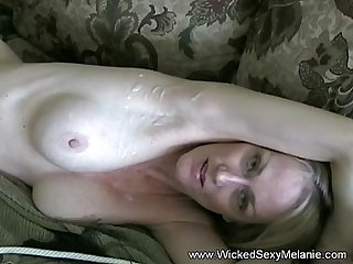 Cumshot And Creamie For Stepmom