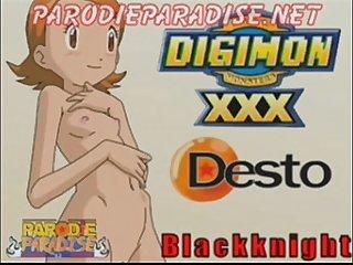 Digimon 02 Xxx sora X tai