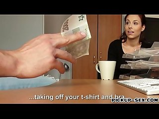 Czech babe Antonia Sainz banged by stranger for cash
