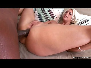 Confused Blonde Teen Interracial Anal