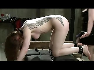 I get lesbian dominated and strapped on fucked