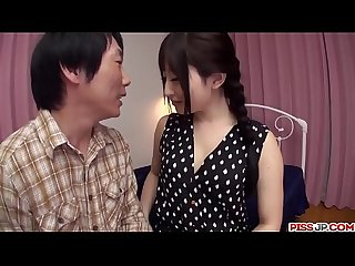Arisa Nakano goes harsh on the big Asian dick - More at Pissjp.com