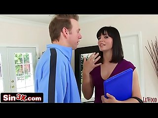 Door-to-Door Sales Girl Bobbi Starr Trades Her Asshole