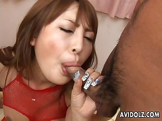 Big boobs Asian Babe has A fuck with The randy boys