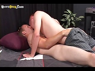 Hot gay man sucking dick