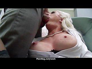 Sexy wild milf loves rough sex at work 15