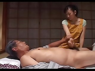 Emiko koike torture soft fair skin care of father in law Wife wet shyness