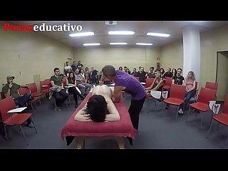 Clase 2 de masaje ertico anal