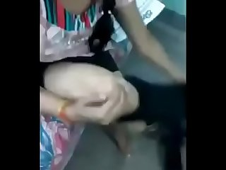 Desi hindi speaking Indian couple Blowjob fucking girl say Bus jan dard ho rah