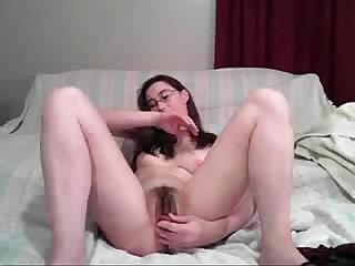 Glasses I love to squirt - honeyoncam.com