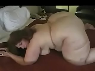 Son pleases mom's big ass