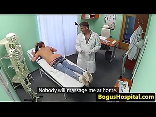 Hospital patient fucked by doctor on spycam
