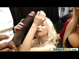 Gorgeous Alura Jenson & Stepdaughter Piper Perri Share BBC