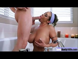 Hard Sex With Bigtits Hot Housewife (eva notty) clip-10