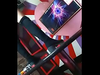 Ktv girl in private room