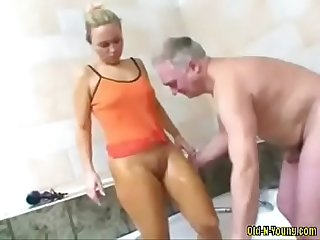 Teen prove Old dick