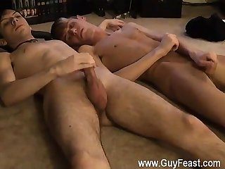 Gay gothic boy movie jared is nervous about his first time stroking