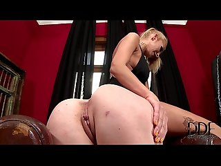 Subbie tiffany doll gets her ass fisted by mistress clara G