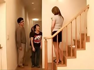 Japanese real mother