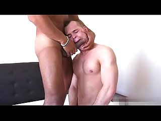 Horny guys blowjob master